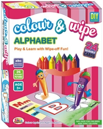 Ekta Colour And Wipe - Alphabets