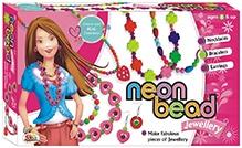 Ekta Neon Bead Jewellery Set