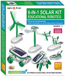Ekta 6 in 1 Solar Kit Robotics Series - 1 DIY Kit