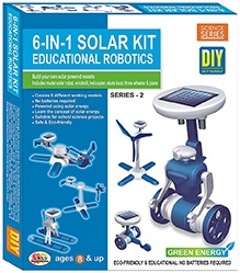 Ekta 6 in 1 Solar Kit Robotics Series - 2 DIY Kit