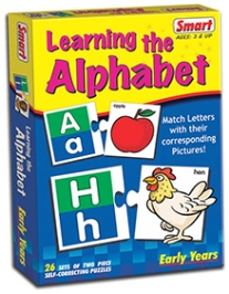 Smart Toy Learning The Alphabet Puzzle - 26 Set of Two Piece