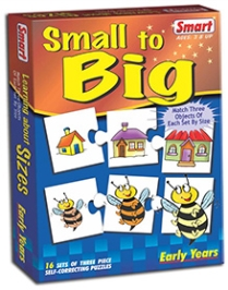 Smart Toy Puzzle Small To Big - 16 Set of Three Piece