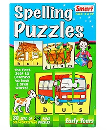 Smart Toy Spelling Puzzles - 105 Pieces