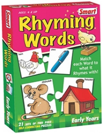 Smart Toy Puzzle Rhyming Words - 42 Pieces