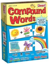 Smart Toy Puzzle Compound Words - 32 Pieces