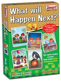 Smart Toy Game What Will Happen Next - 18 Cards