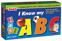 Smart Toy Card Game I Know My - ABC