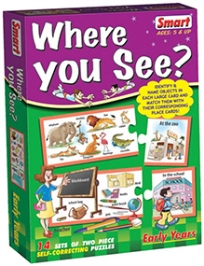 Smart Toy Puzzle Where You See - 28 Pieces