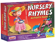 Smart Toy Puzzle Nursery Rhymes Pack 1 - 12 Pieces