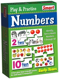 Smart Toy Puzzle Play And Practice Numbers - 40 Pieces