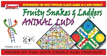 Smart Toy Fruity Snakes And Ladders Ludo Game