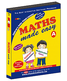 MAS Kreations Maths Made Easy-A - English
