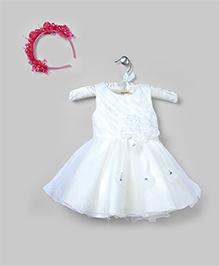 Milky White Organza Dress