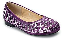 Shoebiz Party Belly Shoes Slip On - Sequin Upper