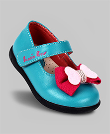 Chick Bow Shoes - Blue