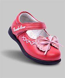 Marzipan Pink Mary Jane with Bow Shoes