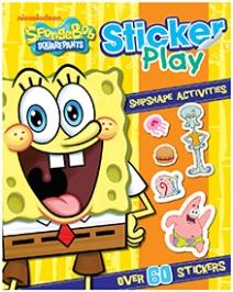 Parragon Sticker Book SpongeBob Sticker Play Aquatic Activities - English