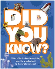 Parragon Knowledge Book Did You Know - English