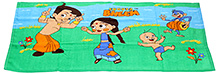 Chhota Bheem Bath Towel - Green