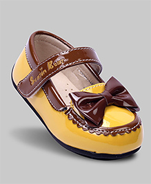 Mustard Yellow Mary Jane Shoes