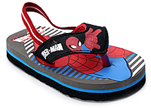Spiderman Flip Flop With Back Strap