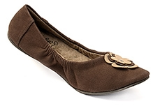 Pregna Bella Maternity Belly Shoes - Dark Brown