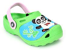 Doink Clog Back Strap - Panda Graphic