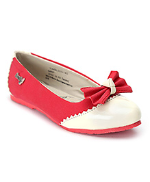 Tweety Party Belly Shoes - Bow Applique