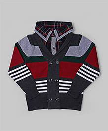 Dark Gray Stripes Sweater