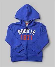 Blue Rookie Applique Hoodie