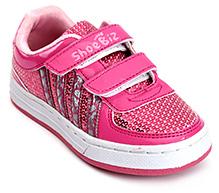Shoebiz Sport Shoes And Velcro Closure - Pink