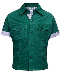 Babyhug Half Sleeves Shirt - Solid