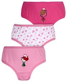 Gini & Jony Panties Multi Print - Set Of 3