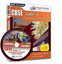 Average2Excellent CD CBSE Class X DVD - Combo Pack