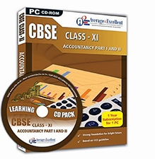 Average2Excellent CD Class XI Accounts Part I And II - CBSE Board