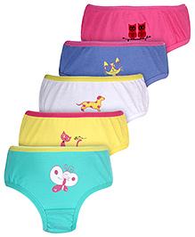 Gini & Jony Panties Multi Print - Set Of 5