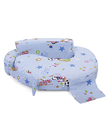 Babyhug Feeding Pillow Small Snooby Print