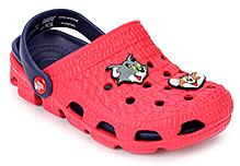 Tom And Jerry Clog Back Strap - Applique