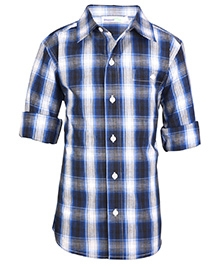 ShopperTree Full Sleeves Shirt - Check Pattern