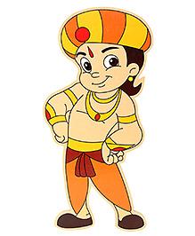 Prasima Toys Chhota Bheem Wooden Cut-outs - Wig