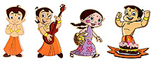 Prasima Toys Magnetic Cut-outs - Set of 4