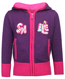 Babyhug Sweater Front Open - Full Sleeves