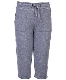 Babyhug Full Length Track Pant - Grey