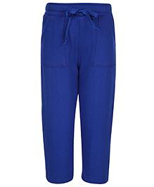 Babyhug Full Length Track Pant - Royal Blue