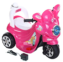 Toyzone Barbie Rechargeable Bike - Pink