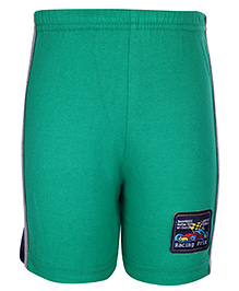 Taeko Bermuda Shorts Racing Patch - Green