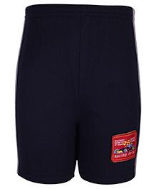 Taeko Bermuda Shorts Racing Patch - Navy Blue