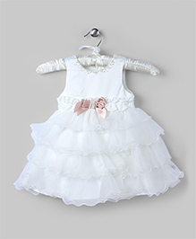 Snow White Pretty Tiered Dress