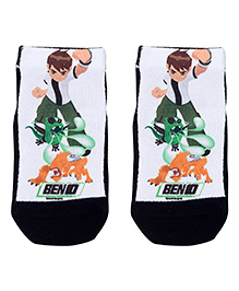 Mustang Ankle Length Socks - Ben 10 Print