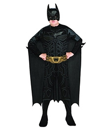 Batman The Dark Knight Rises Costume - Black
